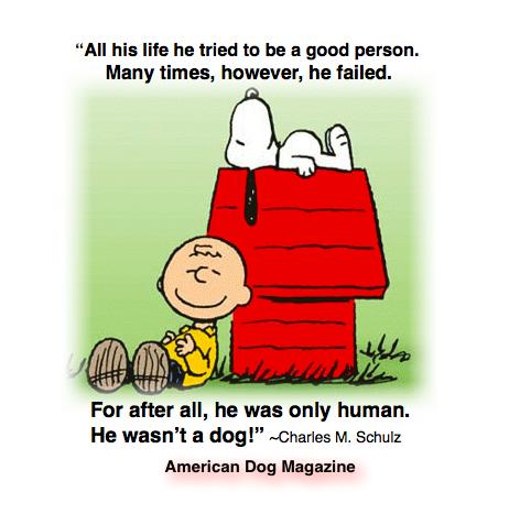 He wasn't a dog!