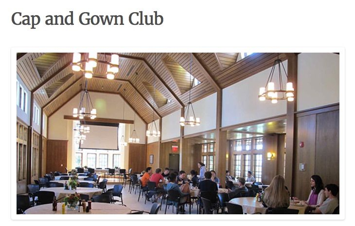 Cap And Gown Club Princeton Stell Hall Tuck Pinterest