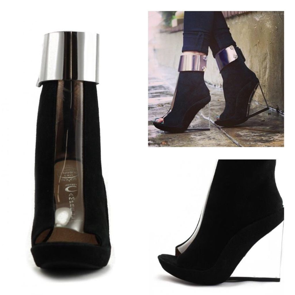 5e4261bce3 Roni Mc Jeffery Campbell Lucite Wedge   Products   Jeffrey campbell ...