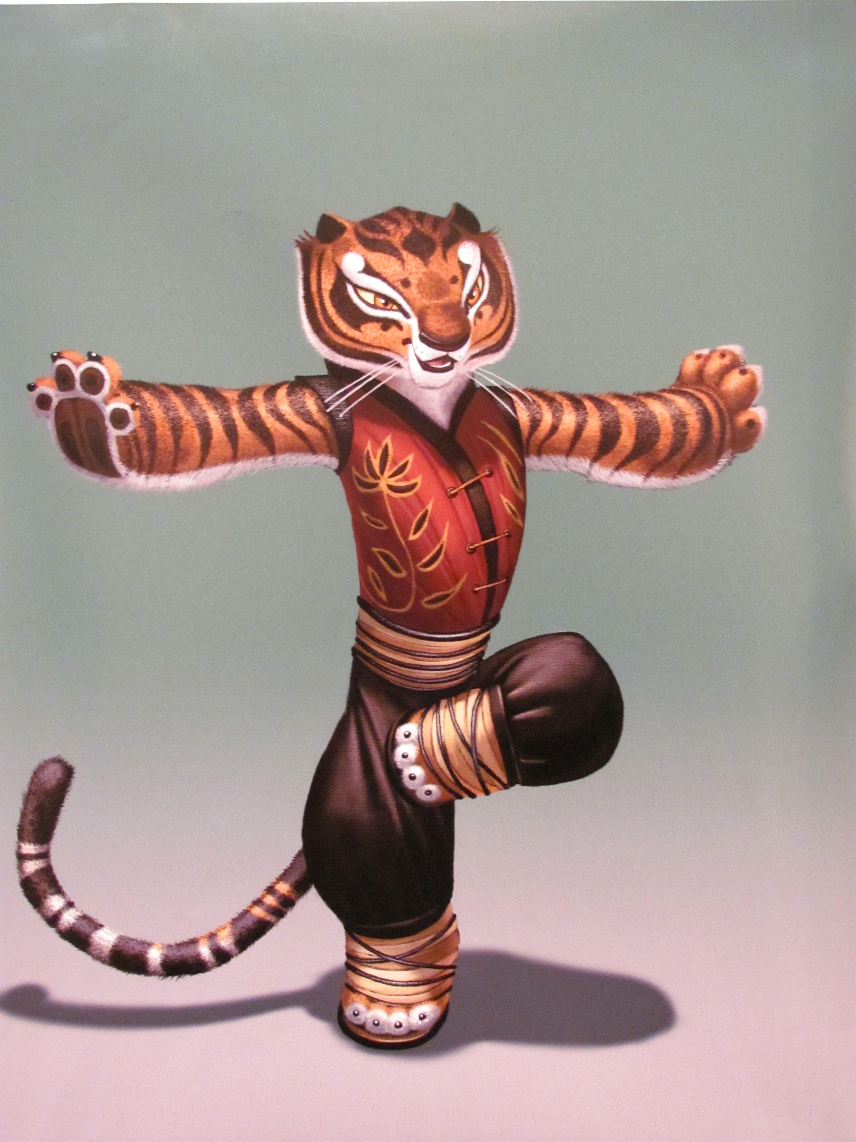A strong tiger kung fu panda i love tigers like kung fu tiger