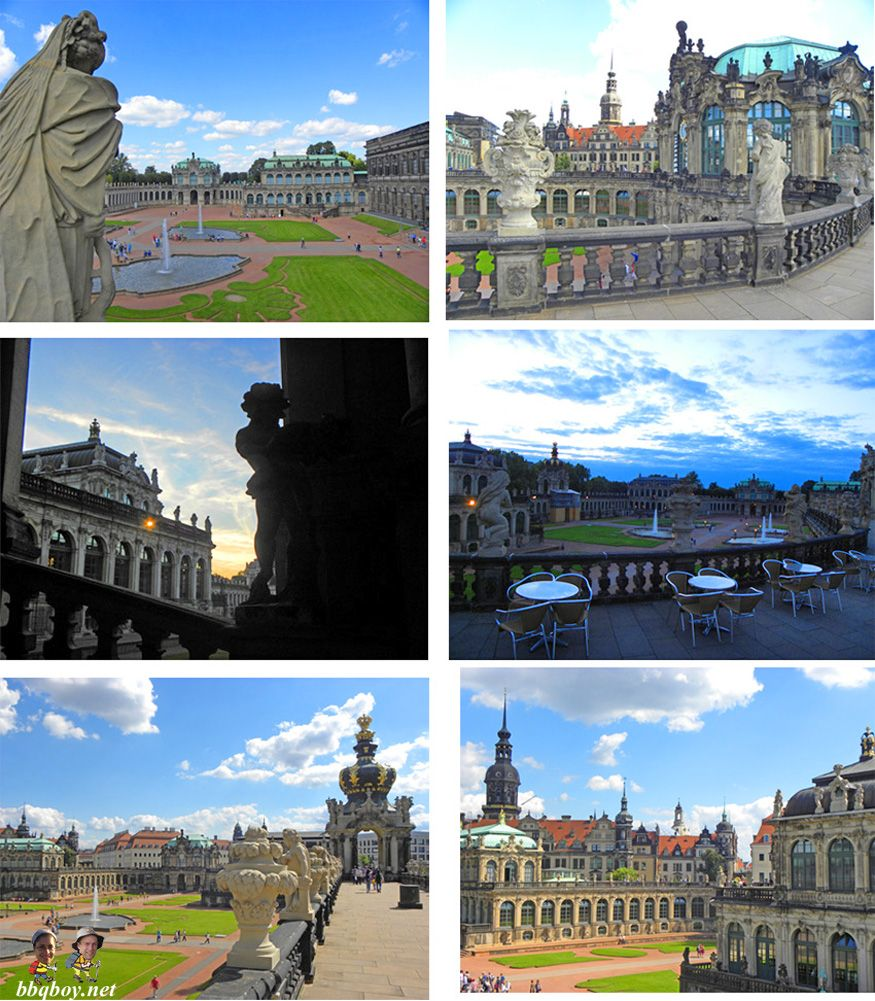 zwinger-palace, dresden germany