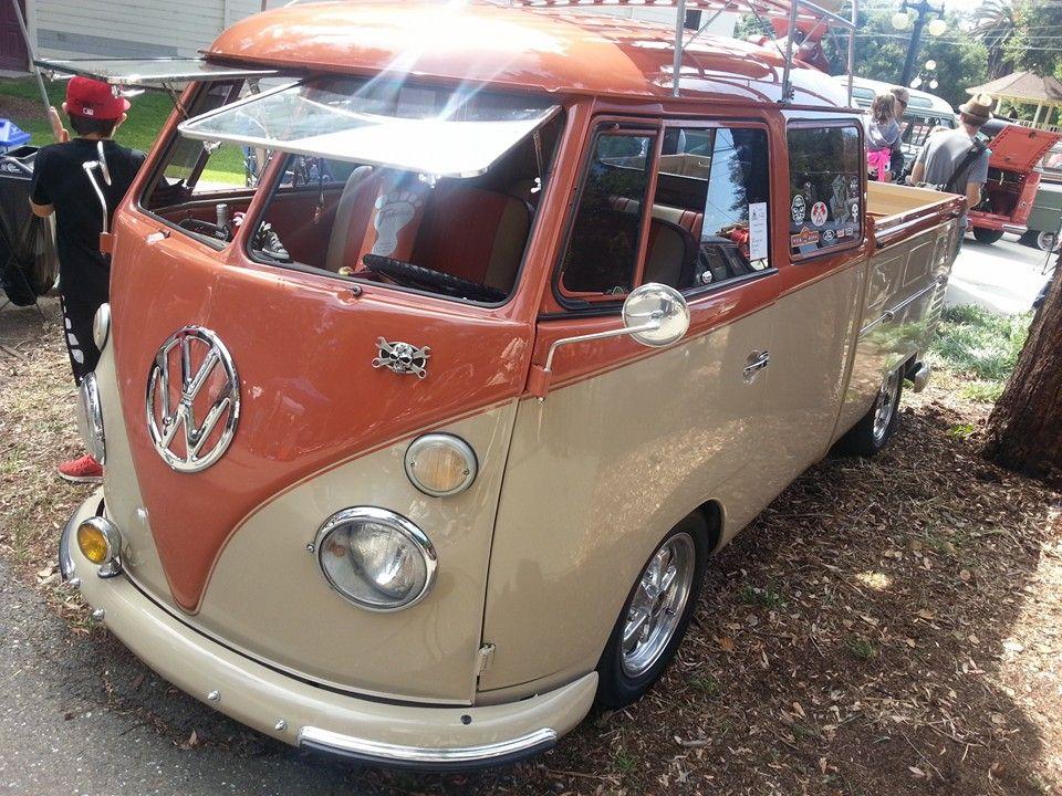 1963 T1 VW Bus double cab pick up vintage