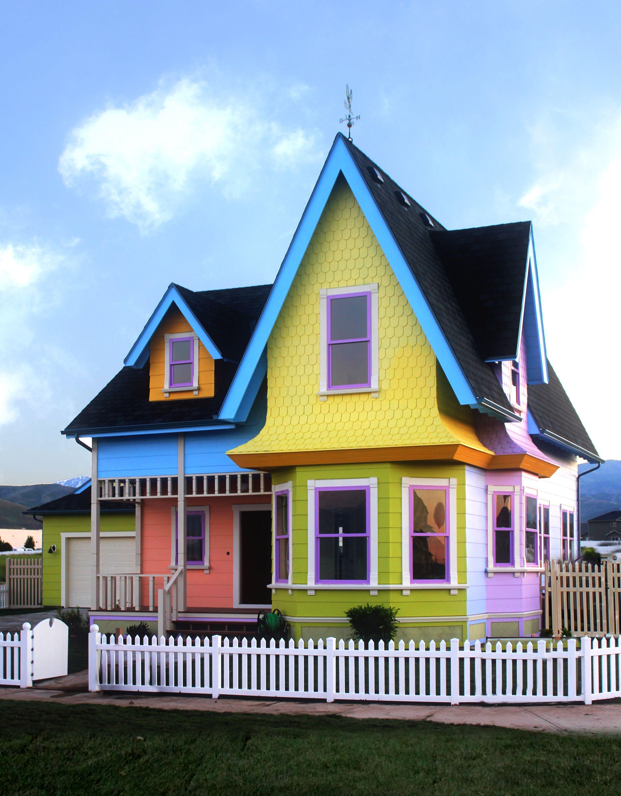 Disney Pixar Up House Has Responsible Windows Andersen