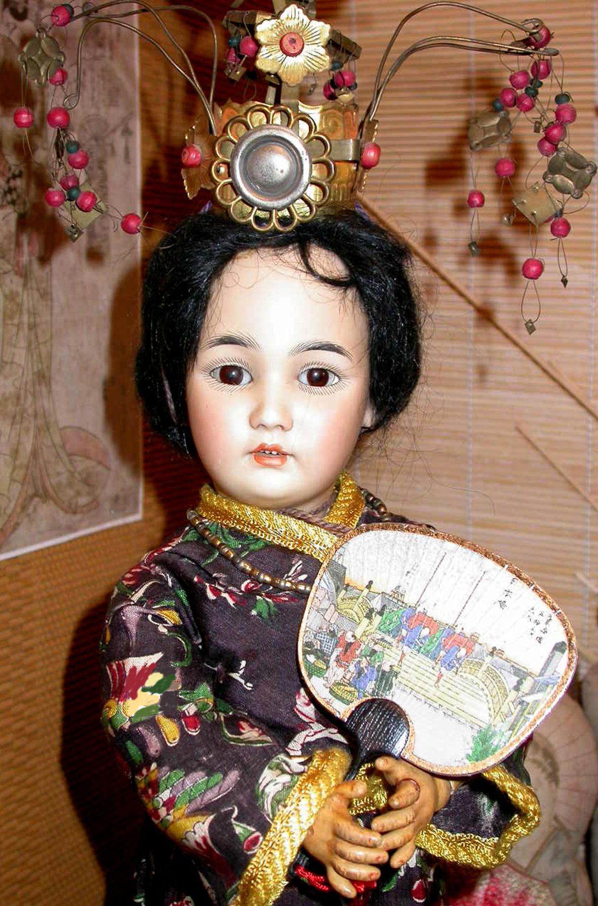 Oriental Simon & Halbig #1329 in fully original condition.