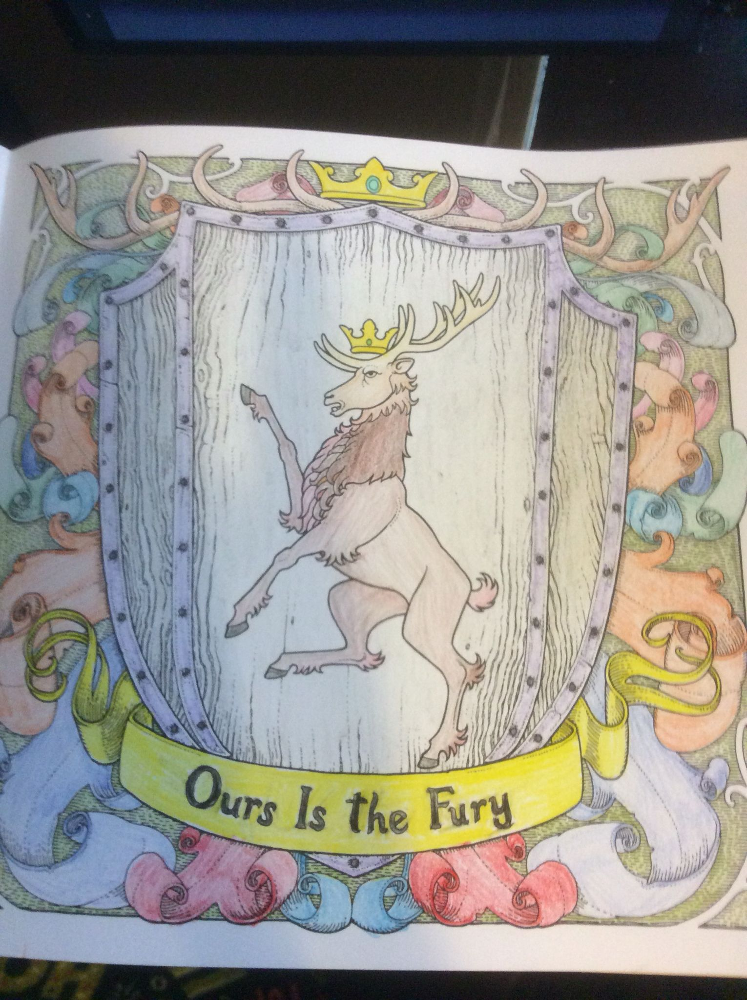 Coloring Books House Baratheon