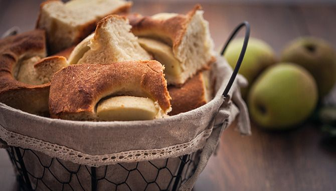 Apple Focaccia by Gourmet Dough. This is a very nice bread I made after observing my apples weighing down the apple tree in the back garden. I considered an apple tart but was in the mood for making bread so apple bread, or apple ...