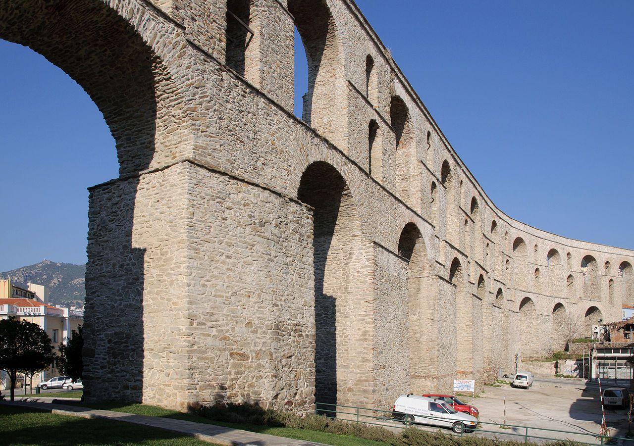 Kavala aqueduct Wikipedia Türk mimarisi