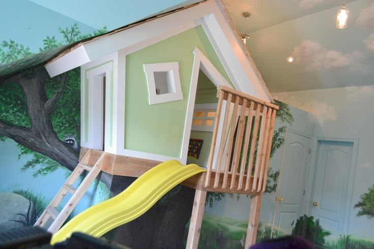 House · Closet With An Indoor Slide ...