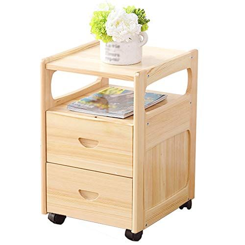 Zj Bedside Table Tables Nightstand Cabinet Stackable Side Coffee Wood End Wooden Storage Shelves