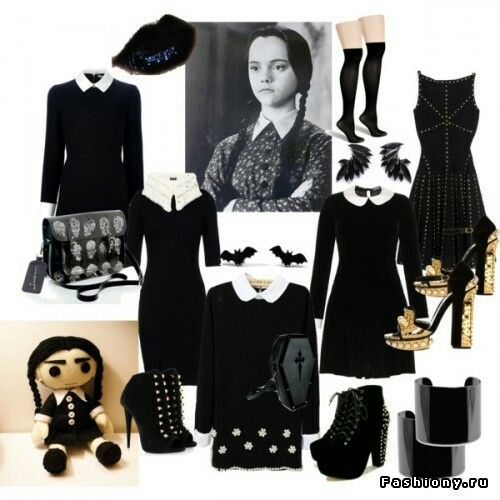 Wednesday Addams style