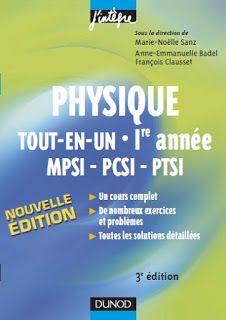 Pour Le Etudiants Livres A Telecharger Gratuitement Maths Physiques Et Chimie Physics Math Physique