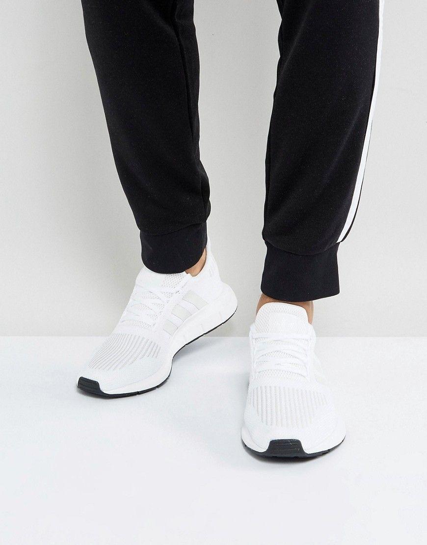 ec0616e8c adidas Originals Swift Run Sneakers In White CG4112 in 2018 ...