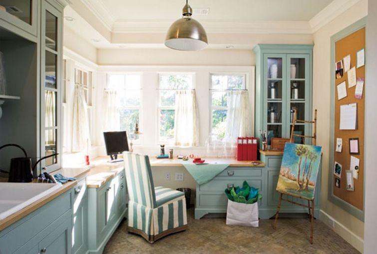 Southern Living idea house multipurpose room HID Studio