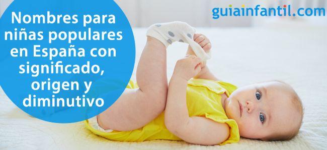 15 bonitos nombres para niñas de España que tienen diminutivos cariñosos