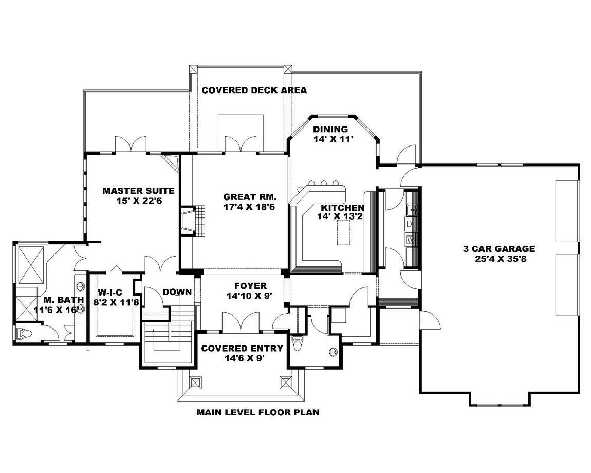 Hpm Home Plans Home Plan 001 3107 House Plans How To
