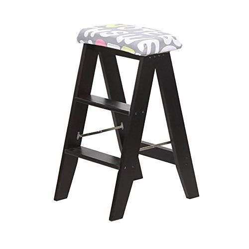 Swell Zxl Dual Use Stool Folding Step Stool Wood Kitchen Portable Short Links Chair Design For Home Short Linksinfo