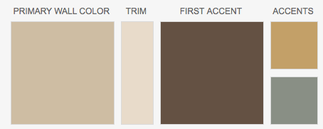 Rich Brown Color Palette Inspired By Chocolate Cake