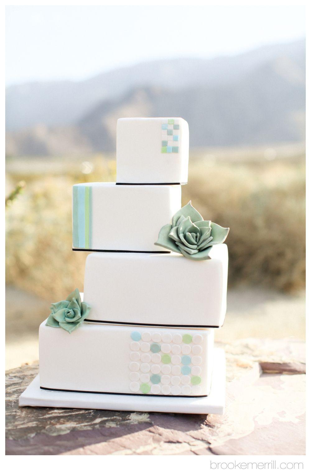 Unique wedding cake designed by Shakar Bakery for a desert inspired ...