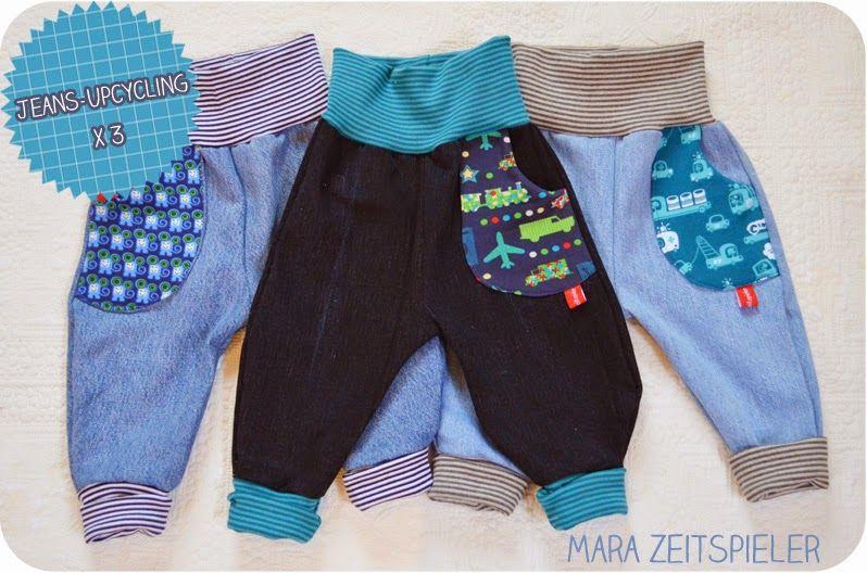 Jeans-Upcycling x3 ~ Mara Zeitspieler   NÄHEN: Ideen - SEWING ...