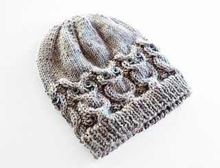 Owl Hat pattern by Julie is Coco and Cocoa