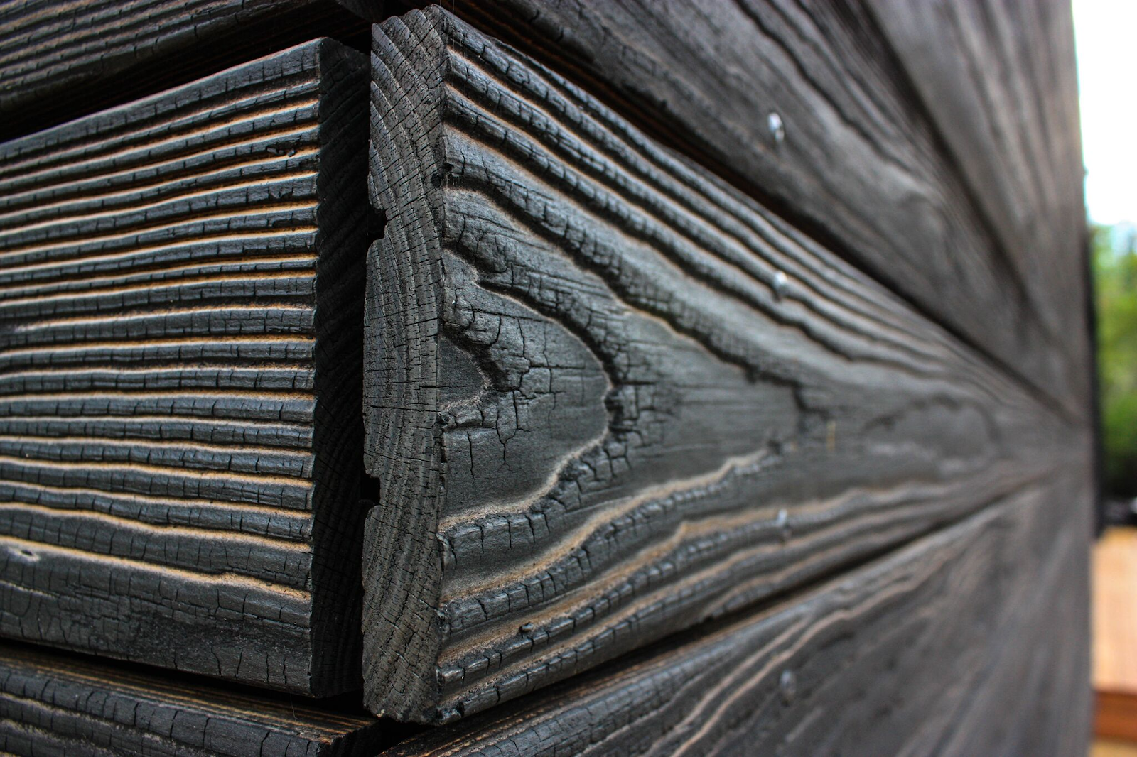 Enhance Your Home With Unique Charred Wood Siding Kebony Charred Wood Siding Charred Wood Shou Sugi Ban