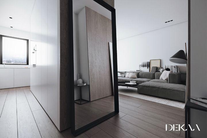Monochroom interieur met prachtige marmeren muren pinterest