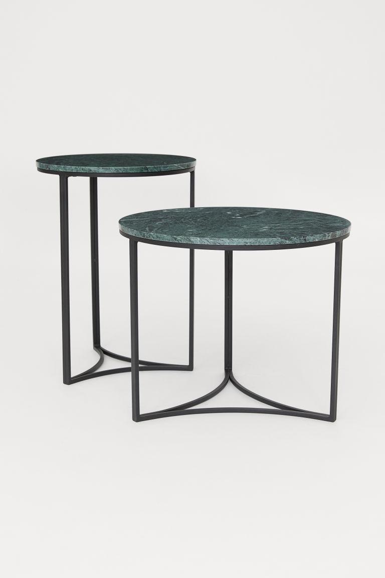 Pdp Tisch Mit Marmorplatte Marmorplatte Beistelltische
