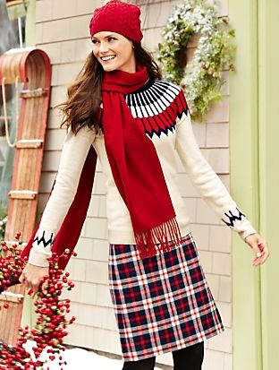 Talbots - Nordic Fair Isle Sweater     Misses Discover your new ...