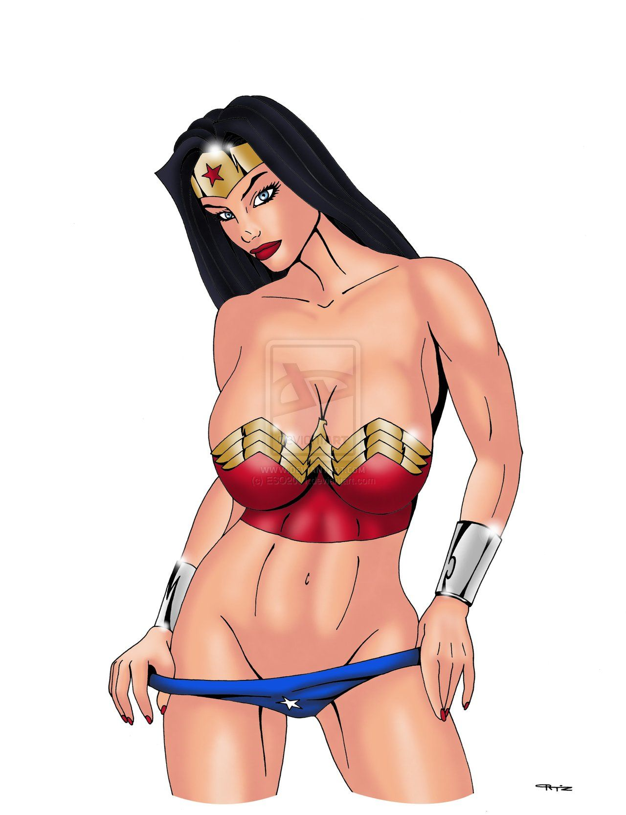 Sexy beach wonder women