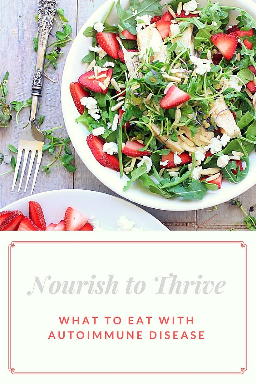 Nourish to Thrive! Integrative Nutrition Tips for What to Eat on an Autoimmune + Sjogren's Diet | EA Stewart, Spicy RD Nutrition