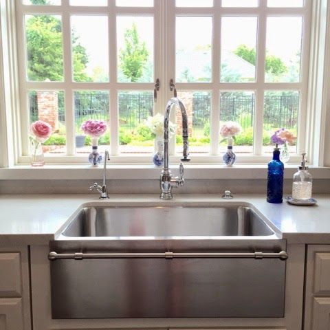 Eleven Gables Summer Entertaining On The Porch With Cocktails Farmhouse Sink Faucet Stainless Steel Farmhouse Sink Farmhouse Sink
