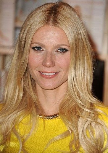 Softly tousled waves on Gwyneth Paltrow's Light Blonde haircolor. Find your own most flattering shade right at home here: http://www.haircolorforwomen.com/breakthrough-hair-color-system-your-salon-doesnt-want-you-to-know-about-p/