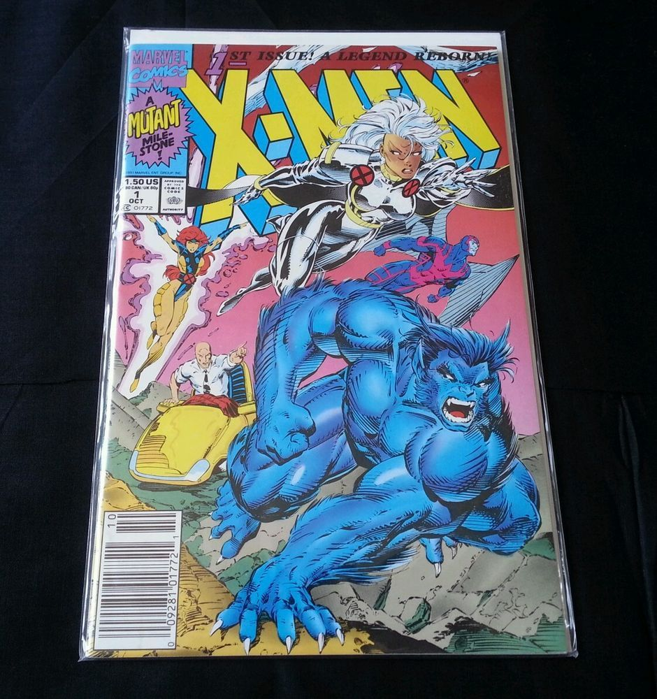 X Men 1st Issue Oct 1991 A Legend Reborn A Mutant Mile Stone Marvel Comics Marvel Comics Marvel Comic Collection