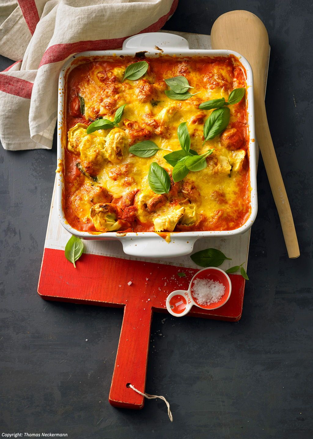 Tortellini-Auflauf à la Sanne #healthyfoodprep