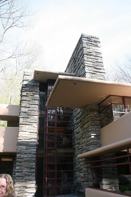 Fallingwater Frank Lloyd Wright 1936 1939 Bear Run