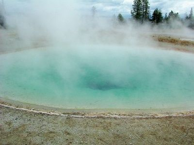 Benefits of mineral baths in hot springs