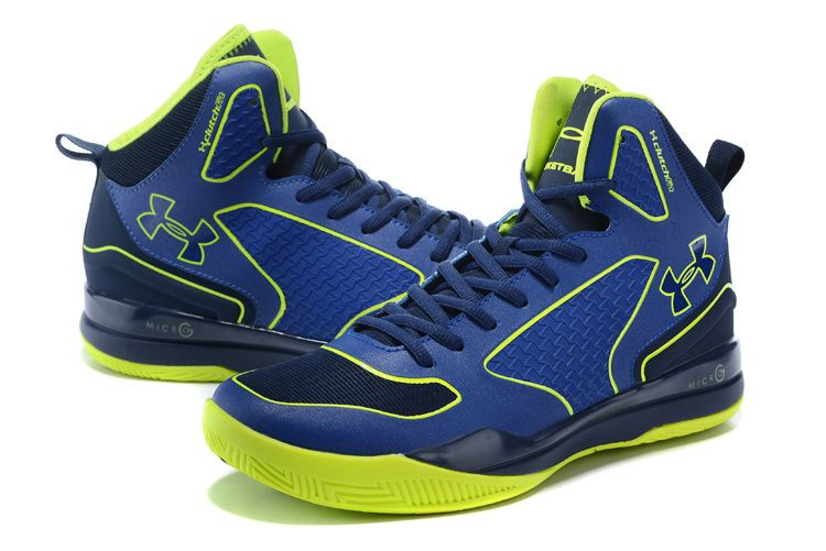 2df9d011c42 Men s Under Armour UA Stephen Curry Three Mid Basketball Shoes Royal Lime