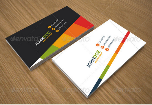 Corporate Business Card Design Template Graphic And Website Design