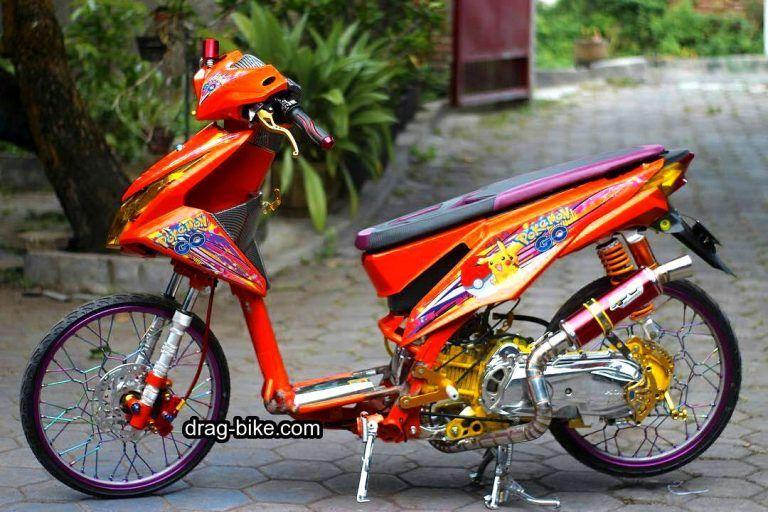 50 Foto Gambar Modifikasi Beat Kontes Street Racing Jari Jari Drag Bike Com Motor Drag Racing Lowrider