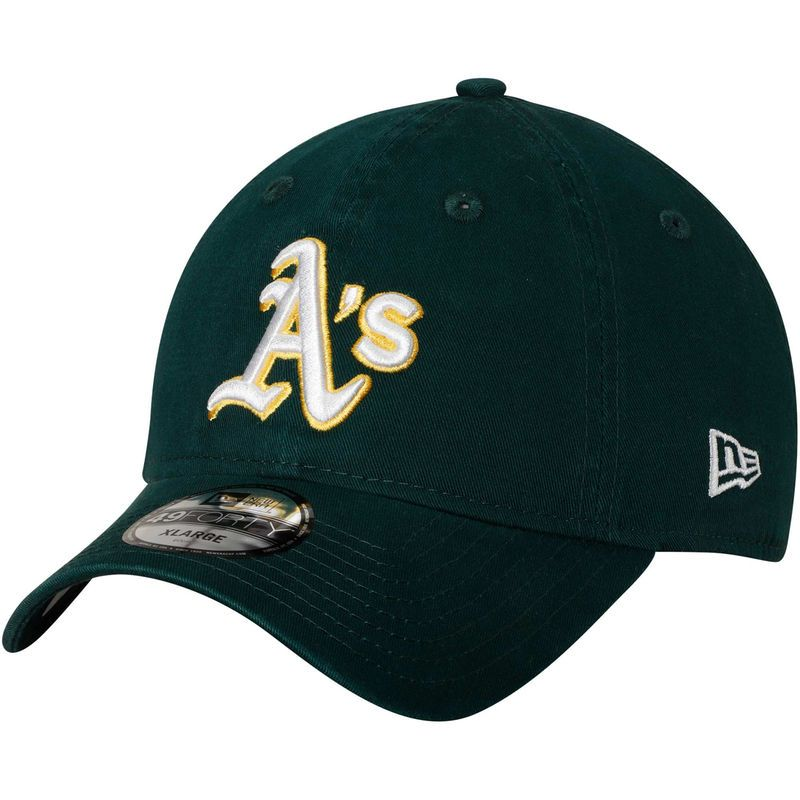 huge discount 861ca dc6c7 Oakland Athletics New Era Core Fit Replica 49FORTY Fitted Hat – Green