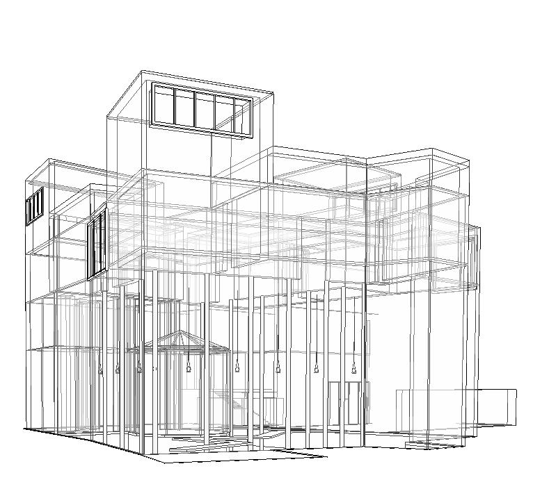 Plan for the Kolumba Museum. Peter Zumthor Museum plan