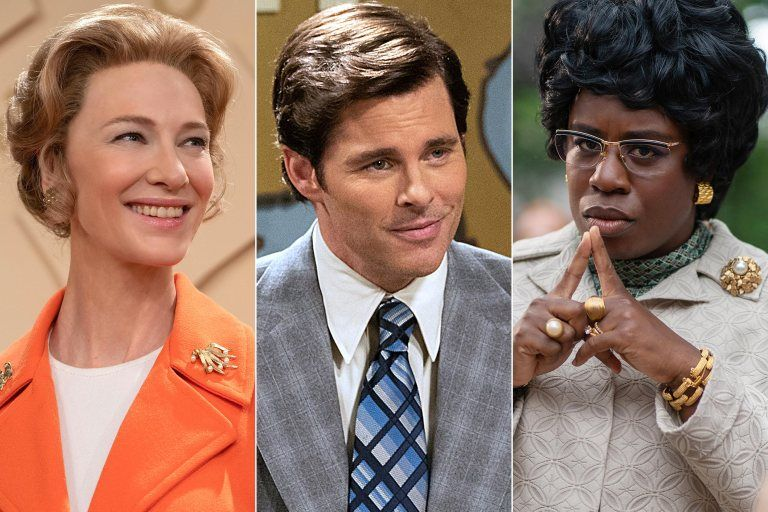 See Cate Blanchett, Uzo Aduba, and more in character for