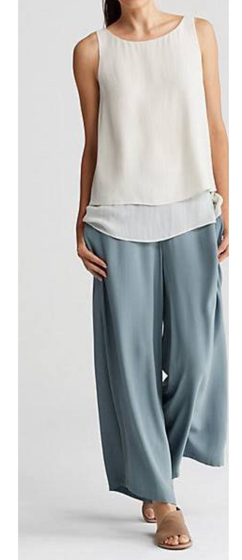 EF wide pants | Eileen fisher | Pinterest | Ropa, Blusas y ...