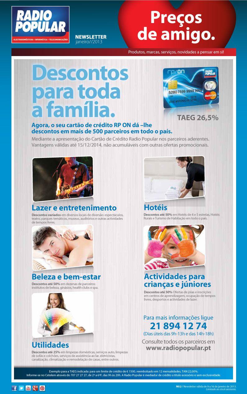 Newsletter - Descontos para toda a família!    http://www.radiopopular.pt/newsletter/2013/02/