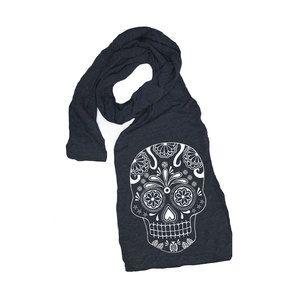 Bufanda De Calavera · Ideas Bufanda · Sugar Skull Scarf Blacknow featured  on Fab. c56100b3377