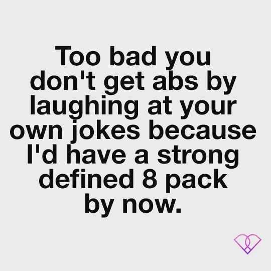 Can You Get Abs From Laughing A Lot Become Pop Pilates Certified Just For Laughs Laugh At Yourself Pop Pilates