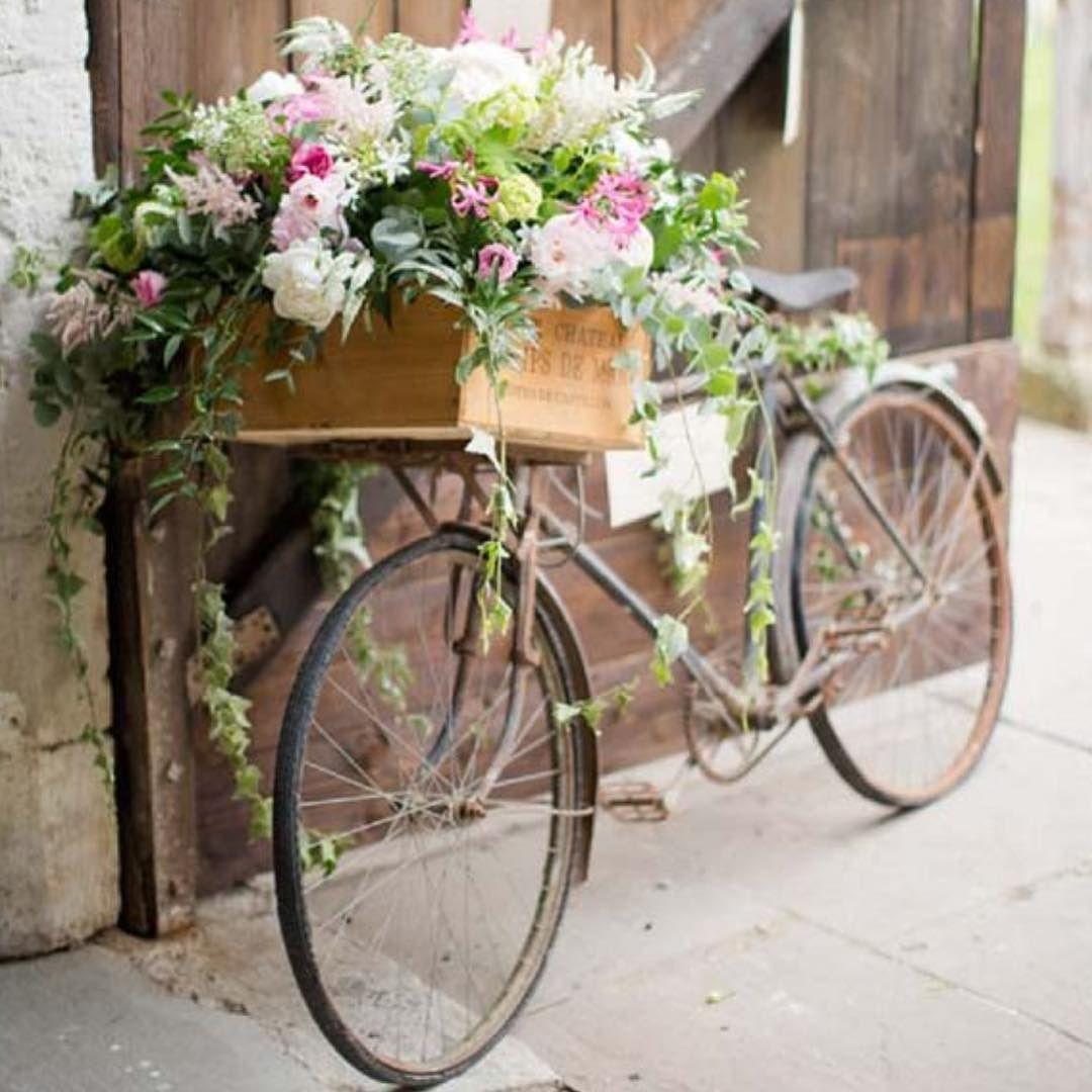 fabulous vancouver wedding Something about bicycle with flowers..#wedding #weddingdecor #outdoors #bicycle #barnwedding #밴쿠버 #밴쿠버웨딩 by @wedofairytales  #vancouverflorist #vancouverwedding #vancouverweddingdecor #vancouverwedding