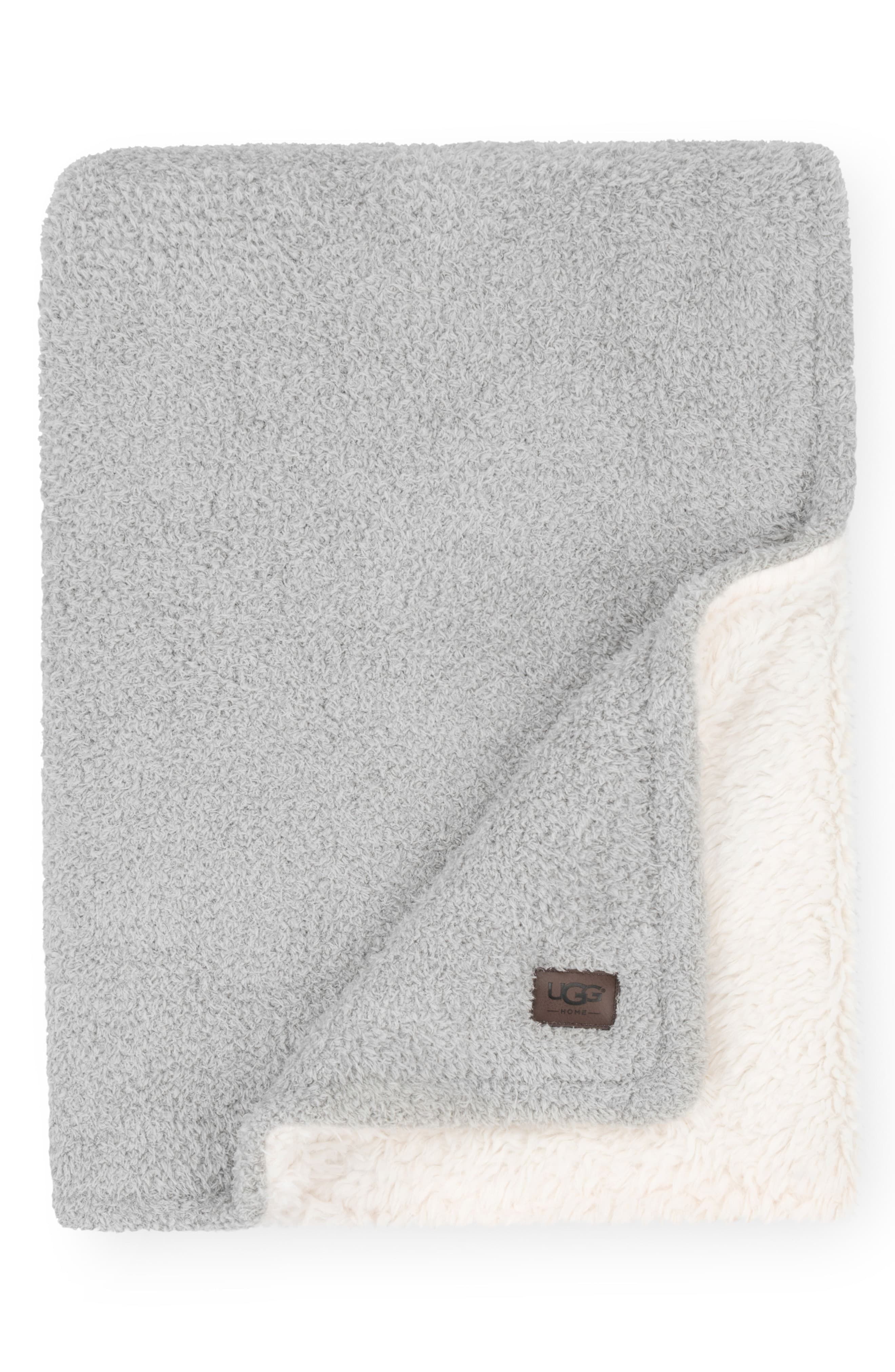 f78b23e69e5 Ugg Ana Faux Shearling Throw, Size One Size - White in 2019 ...