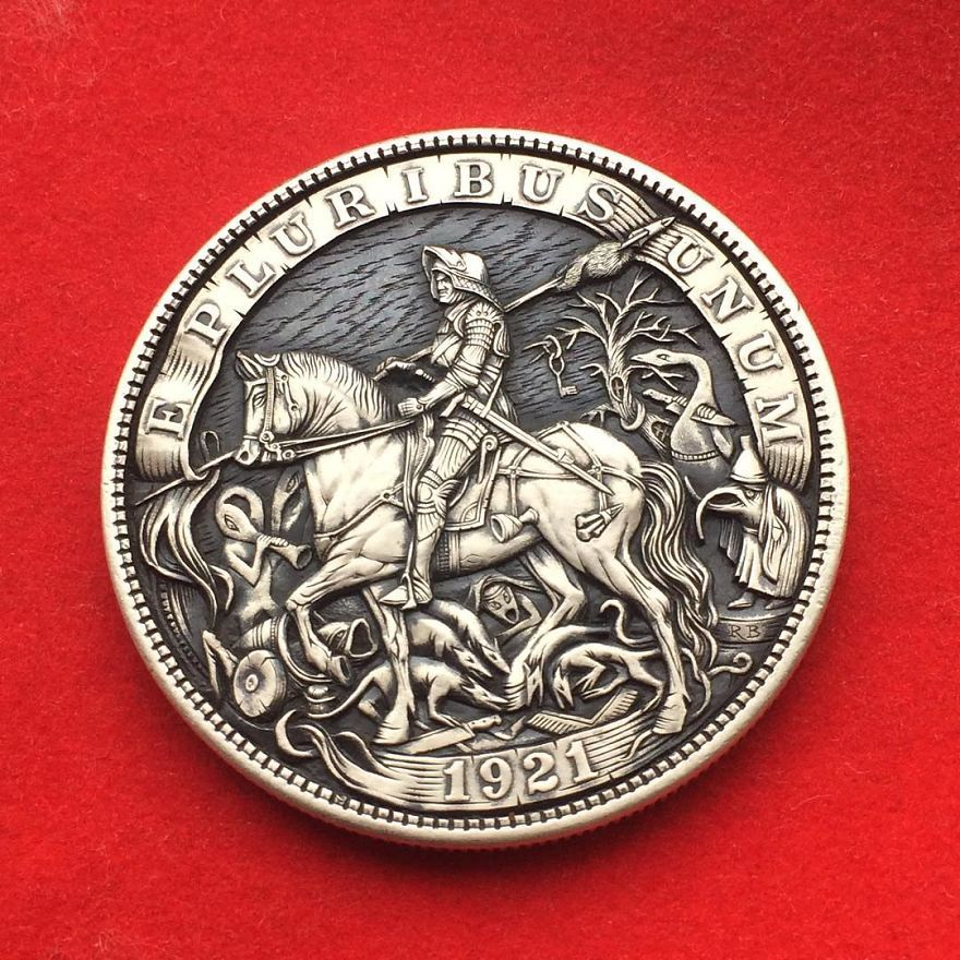 Extraordinary Coins Sculpted By Roman Booteen | Hobo | Hobo
