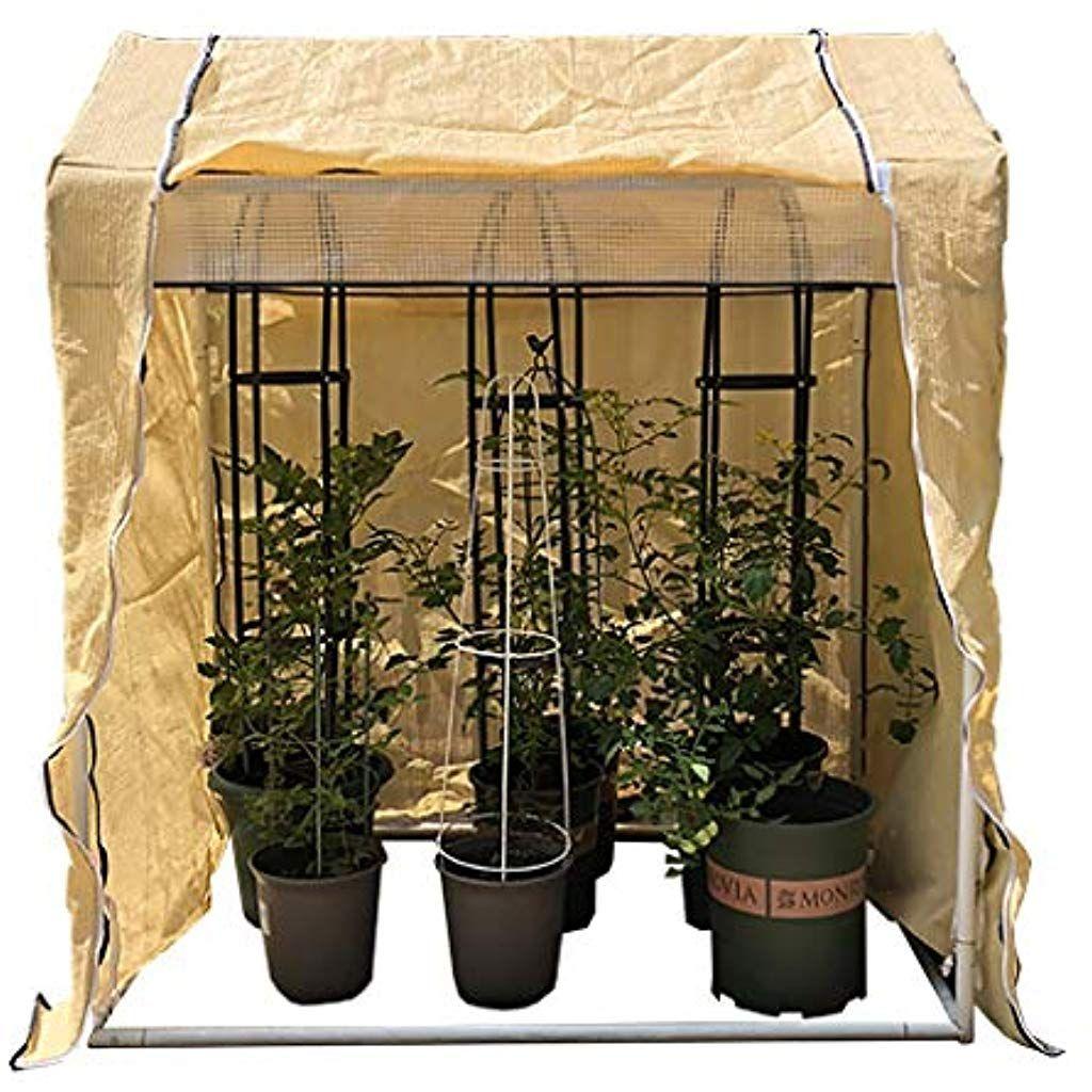 Serres Jardin A Effet De Petit Jardinage Portable Couverture Vegetale Jardin Fleur Abri Isolation Revetement Exteri Serre Jardin Revetement Exterieur Jardinage
